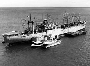 K 11 Gun USS Mauna Loa (AE-8) -...