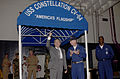 US Navy 020827-N-1356A-006 SECDEF visits USS Constellation.jpg