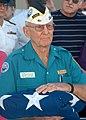 US Navy 031204-N-7391W-045 verett Hyland, the only remaining Pearl Harbor survivor who served aboard the battleship USS Pennsylvania.jpg