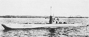 German Type II submarine - Image: U 1 Kriegsmarine