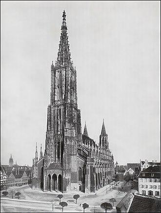 Ulm Minster - Ulm Minster (1910)