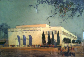 United Lodge of Theosophists - Artist's rendering of Theosophy Hall - United Lodge of Theosophists, Los Angeles