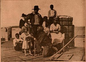 Uncle Tom's Cabin (1910 Thanhouser film) - Another surviving film still
