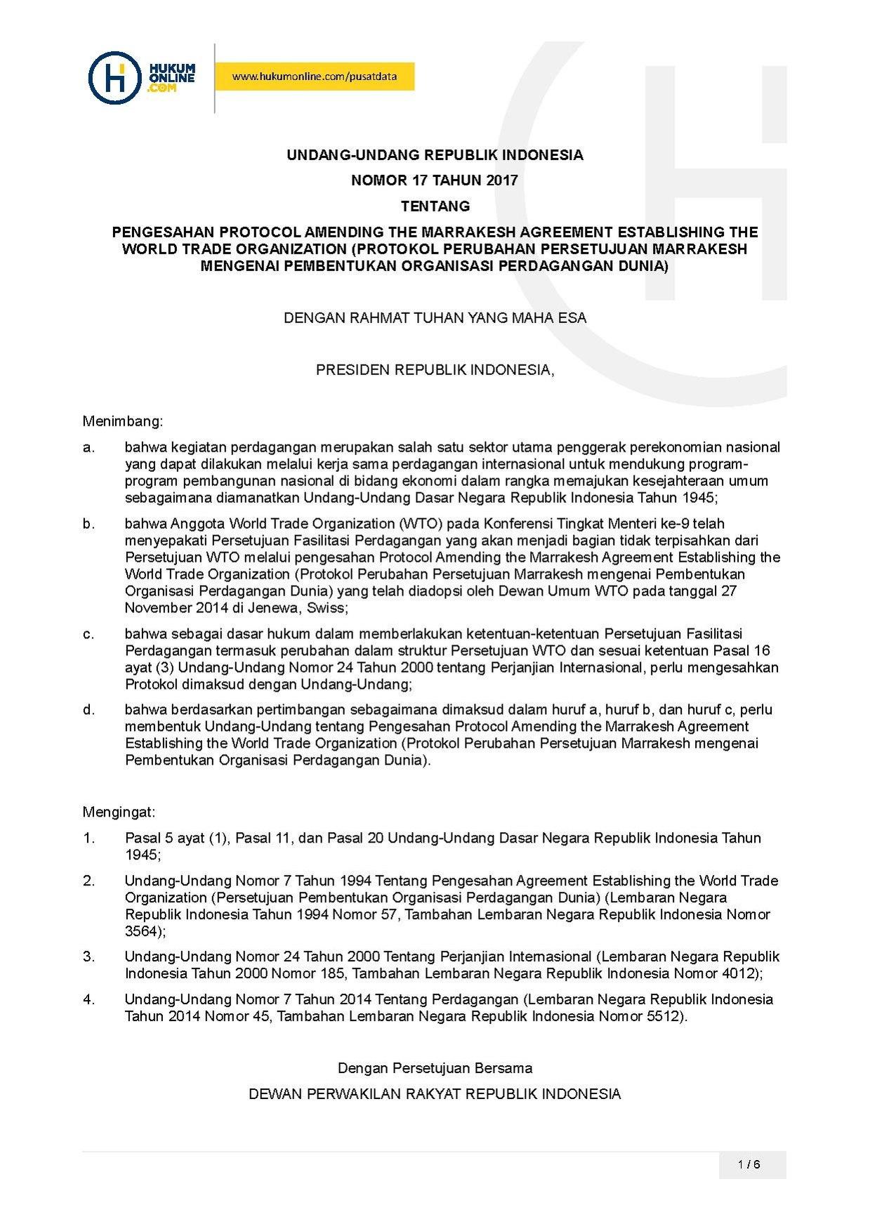 Fileundang Undang Nomor 17 Tahun 2017pdf Wikimedia Commons
