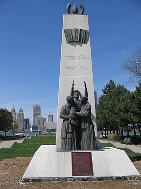Underground Railroad Monument Windsor Canada.jpg