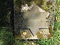 Une famille juive protégée par des paysans allemands Plaque commémorative.JPG