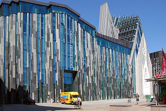 Erick van Egeraat - University building in Leipzig, Germany