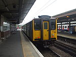 Unit 317890 at Upminster.JPG