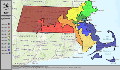 United States Congressional Districts in Massachusetts, 2003 – 2013.tif