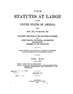 United States Statutes at Large Volume 41 Part 2.djvu