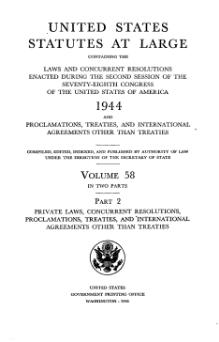 United States Statutes at Large Volume 58 Part 2.djvu