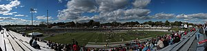 City Stadium (Richmond) - Image: University of Richmond Stadium panoramic