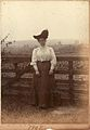 Unknown Edwardian lady, possibly one of the Hook sisters, 1907 (6627975351).jpg