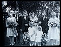 Unknown c. late 1920s wedding photograph - family group (5064146339).jpg