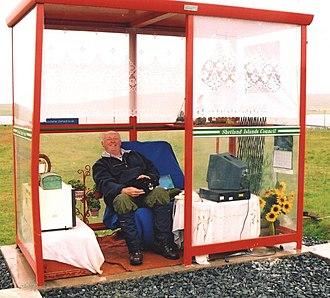 Unst - The Unst Bus Shelter