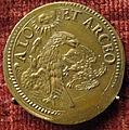 Urbino, medaglia di francesco maria della rovere 1, verso con aquila (bronzo).JPG