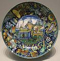 Urbino, piatto con san girolamo, 1510-15.JPG