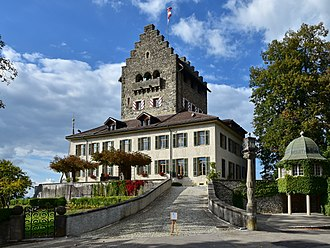Uster Castle - the landmark of the city of Uster