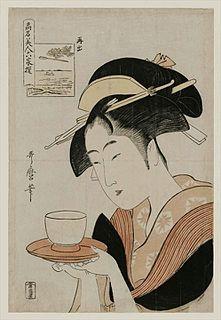 series of ukiyo-e prints designed by the Japanese artist Utamaro