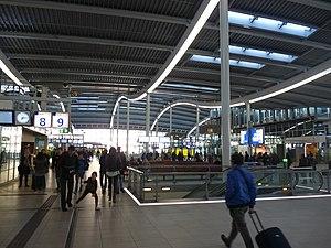 Utrecht Centraal railway station - Inside the new station.