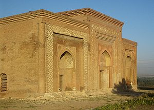 Uzgen - 12th century Karakhanid mausoleum in Uzgen