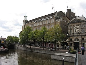 Jan van der Laan - Image: V&D Leiden