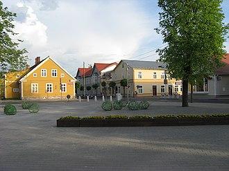 Võru - Image: Võru panoramio (1)
