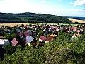 Výhled z Hudlické skály, směr Hudlický vrch (01).jpg