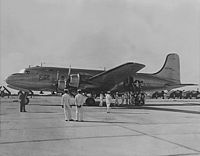VC-54C The Sacred Cow 1948