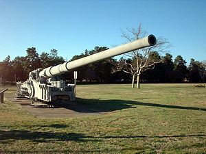 M65 atomic cannon - Image: VWM240mm Atomic Annie 01