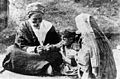 Vaccination during the epidemic of small-pox, 1921 Palestine Wellcome M0005594.jpg