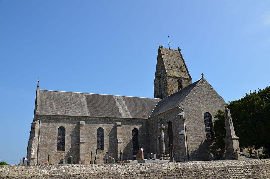 Église Notre-Dame de Valcanville.