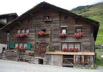 Vals, Switzerland - Walser house