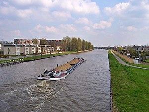 Van Harinxmakanaal - The barge Bijlmermeer on the van Harinxmakanaal