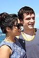 Vanessa Hudgens and Josh Hutcherson (6718749929).jpg