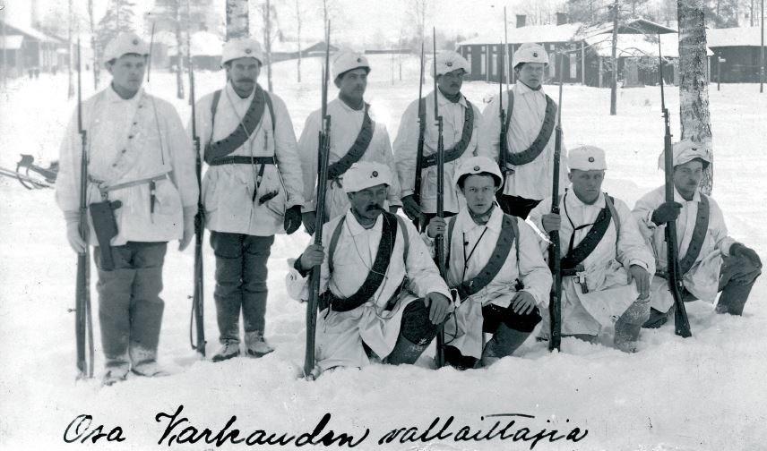 Varkaus White Guards 1918