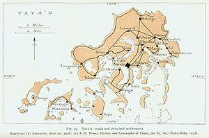 Karte von 1944