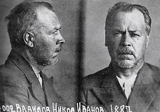 Nikolai Vavilov - Vavilov's mugshot