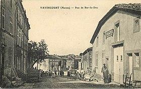 Vavincourt wikimonde for Bar le duc code postal