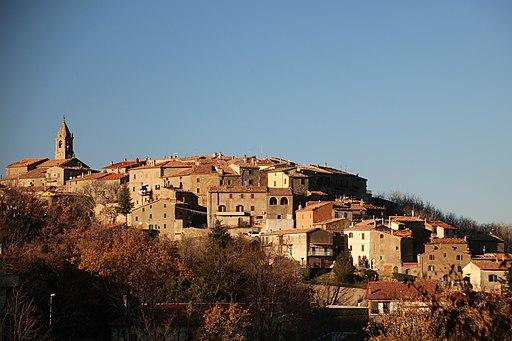 Veduta di Montelicello Amiata (Cinigiano)