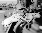 Vice Admiral Marc A. Mitscher aboard USS Lexington (CV-16), in June 1944 (80-G-236831)