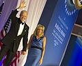Vice President Joe Biden, left, and his wife, Jill, bid farewell to ball attendees before departing for the evening at the Commander in Chief's Ball at the Washington Convention Center in Washington, D.C 130121-A-TT930-058.jpg