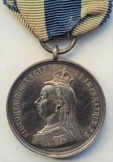 Queen Victoria Diamond Jubilee Medal