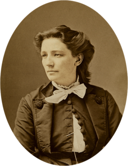 Victoria Woodhull by Mathew Brady c1870