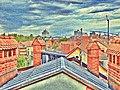 VidGajsek - Strehe s streh modern pictorialism 2011.jpg