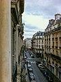 View from Le Regent Montmartre, Paris 14 November 2010.jpg