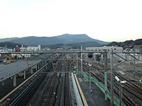 View from overpass of Haiki Station (North).JPG