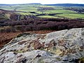View from the roof of Corby's Crags Rock Shelter - geograph.org.uk - 1137594.jpg