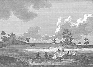 Economic history of Australia - Port Jackson