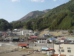 View of Kosuge Village
